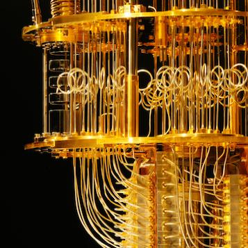 Look inside a Quantum Computer